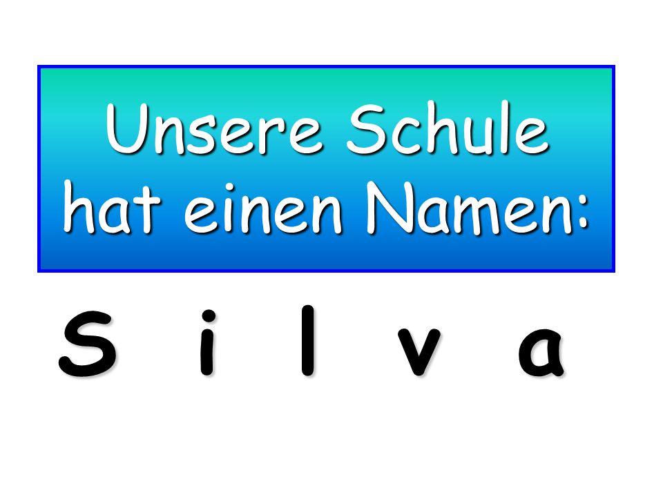 Unsere Schule hat einen Namen: S i l v a