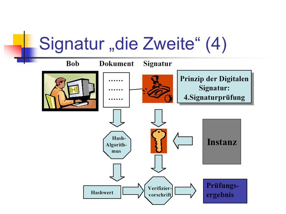 Signatur die Zweite (4) Instanz