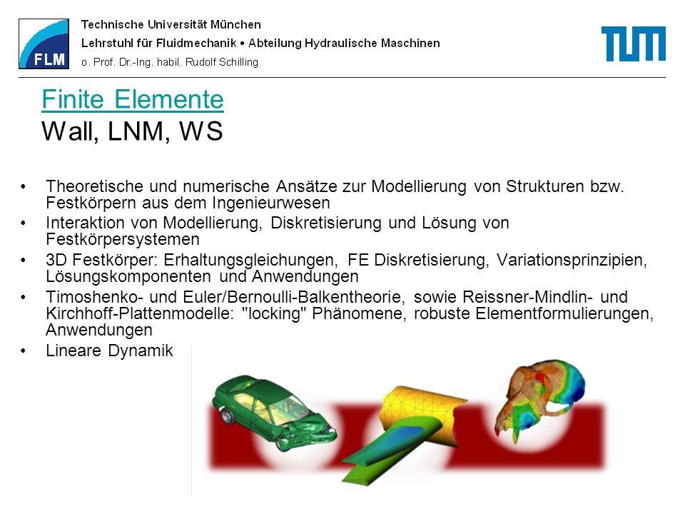 Fluidmechanik II Fluidmechanik II Univ.Prof. Dr.-Ing.