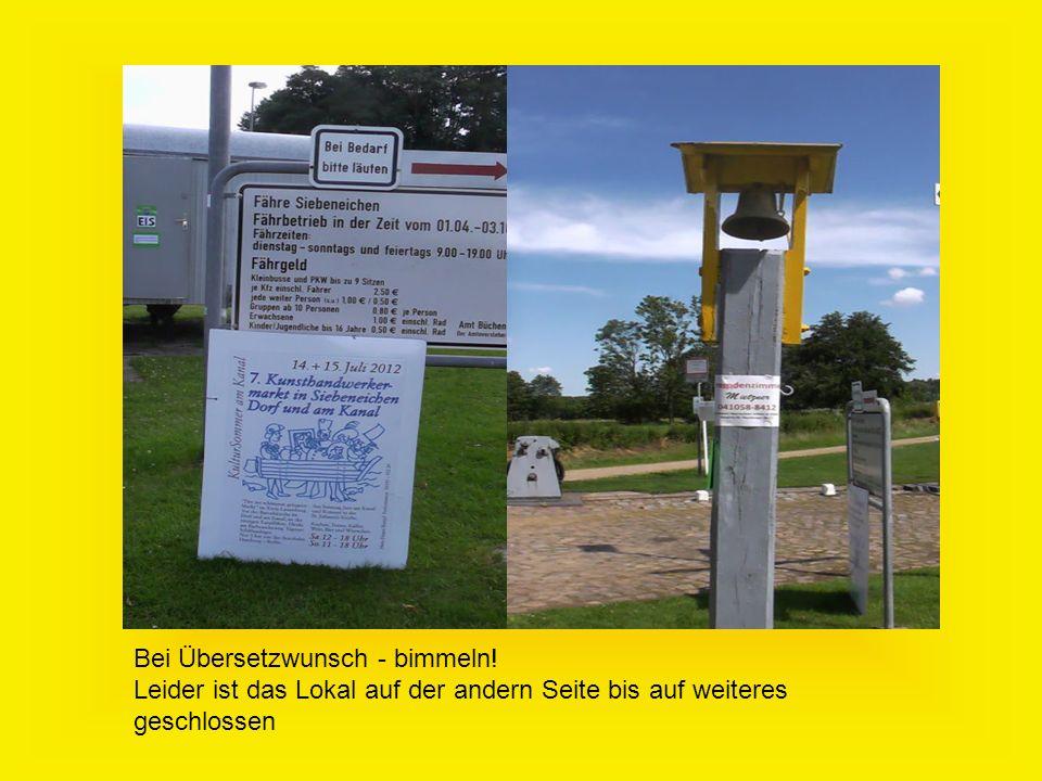Bei Übersetzwunsch - bimmeln.