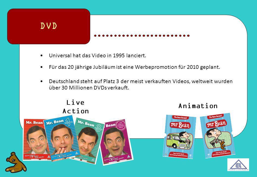 Universal hat das Video in 1995 lanciert. Für das 20 jährige Jubiläum ist eine Werbepromotion für 2010 geplant. Deutschland steht auf Platz 3 der meis