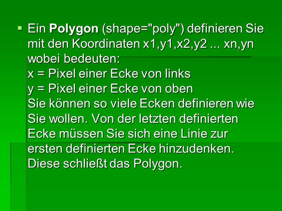Ein Polygon (shape=