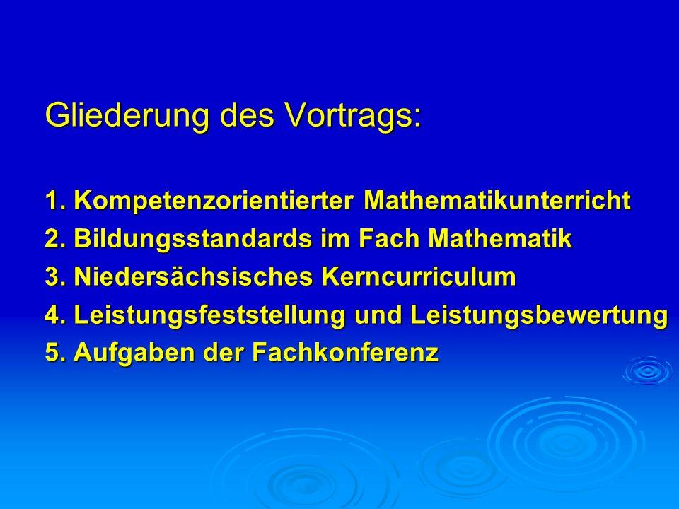 Mathematikunterricht in der Grundschule Prozessbezogene mathematische Kompetenzen Darstellen Problemlösen Modellieren Argumentieren und Kommunizieren Inhaltsbezogene mathematische Kompetenzen Zahlen und Operationen Größen und Messen Raum und Form Muster und Strukturen Daten und Zufall Konzeption des Kerncurriculums