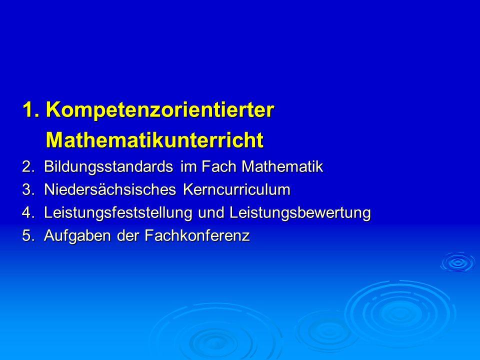 Niedersächsisches Kerncurriculum Modellierungskompetenz wird gefördert, wenn der Unterricht einen systematischen und progressiven Aufbau dieser Kompetenz ermöglicht und zu ihrer Anwendung herausfordert.