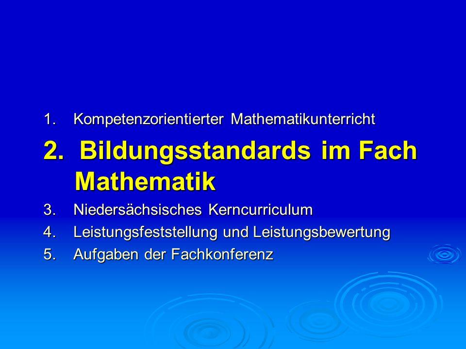 Niedersächsisches Kerncurriculum Kompetenzbereich Kommunizieren/Argumentieren Wie heißt die nächste Aufgabe.