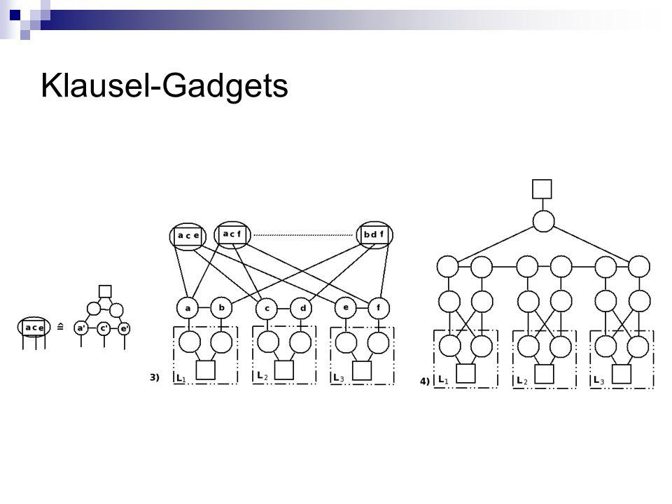 Klausel-Gadgets