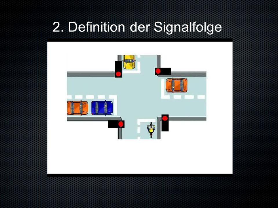 2. Definition der Signalfolge
