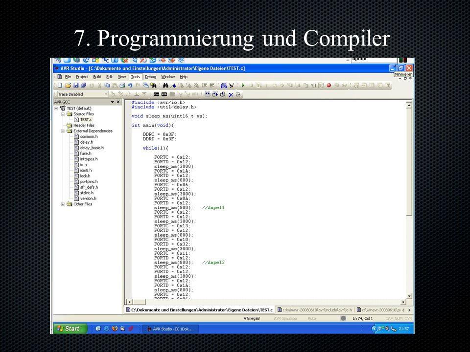 7. Programmierung und Compiler