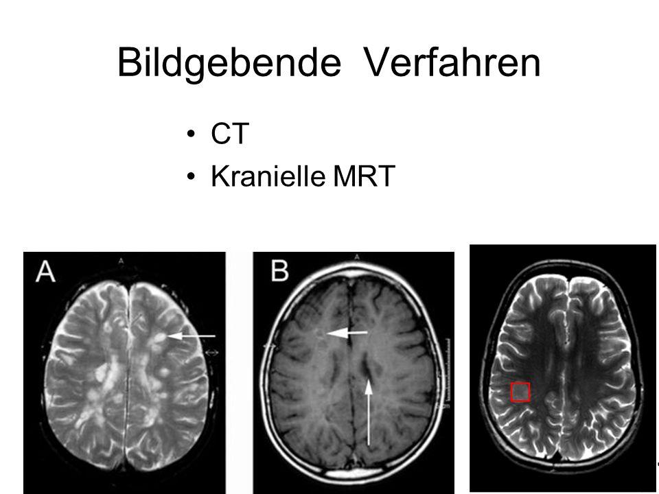 Bildgebende Verfahren CT Kranielle MRT