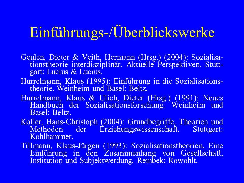 Themenbereiche Psychoanalyse I: Freud Miller, Patricia (1993): Freuds und Eriksons psychoanalyti- sche Theorien.