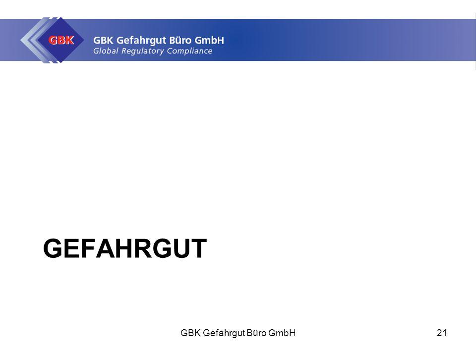GEFAHRGUT GBK Gefahrgut Büro GmbH21