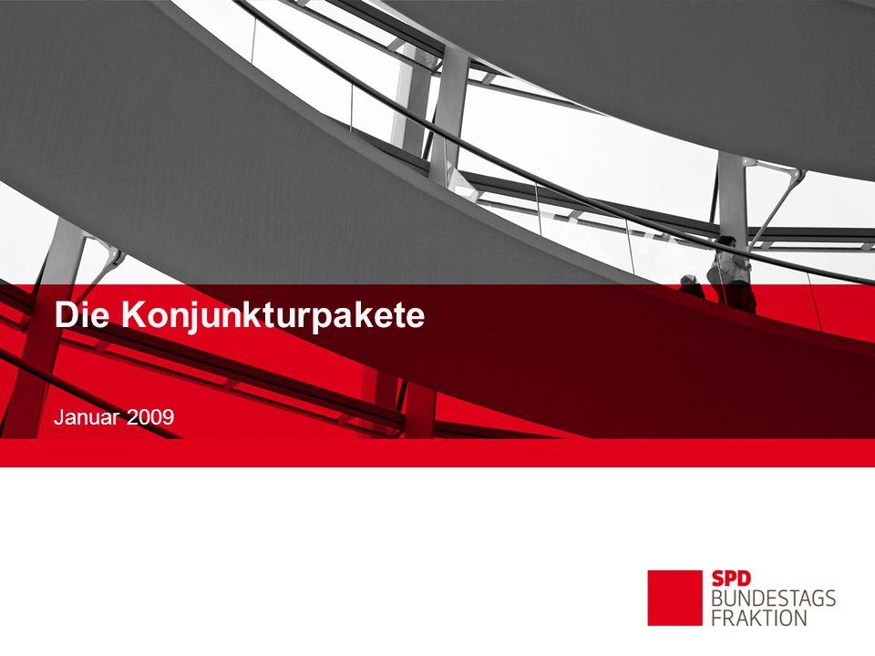 Die Konjunkturpakete Januar 2009