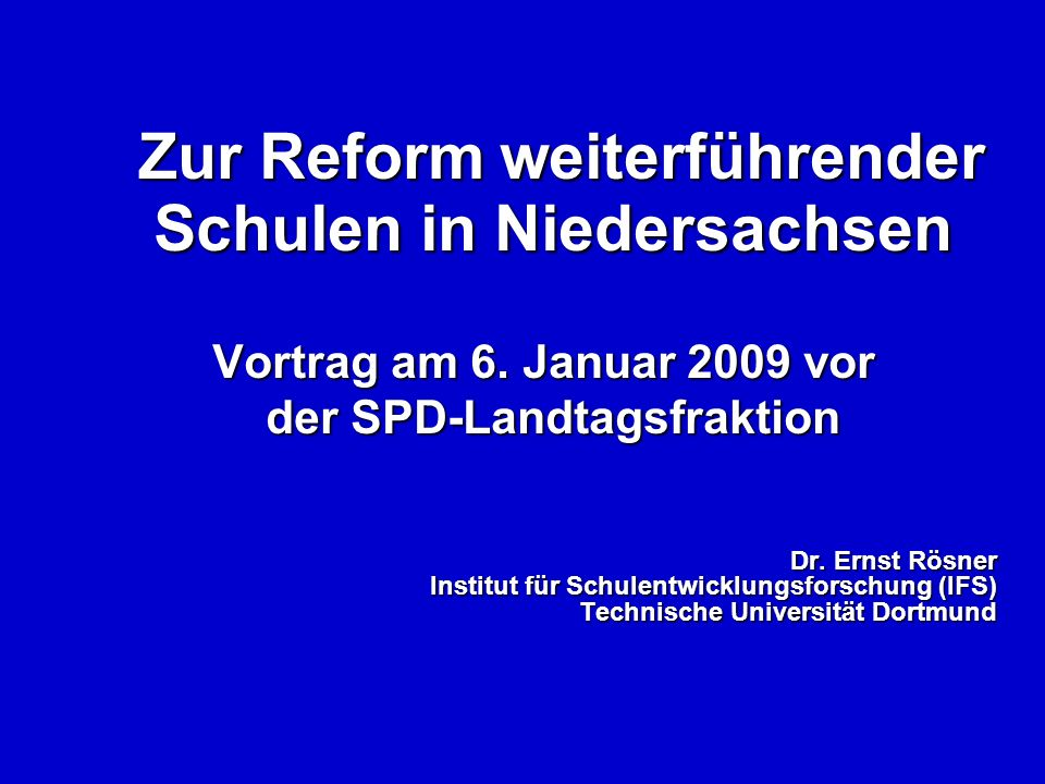 Worum es heute gehen soll: Die Ausgangslage Alternative Gemeinschaftsschule Erfahrungen aus Schleswig-Holstein