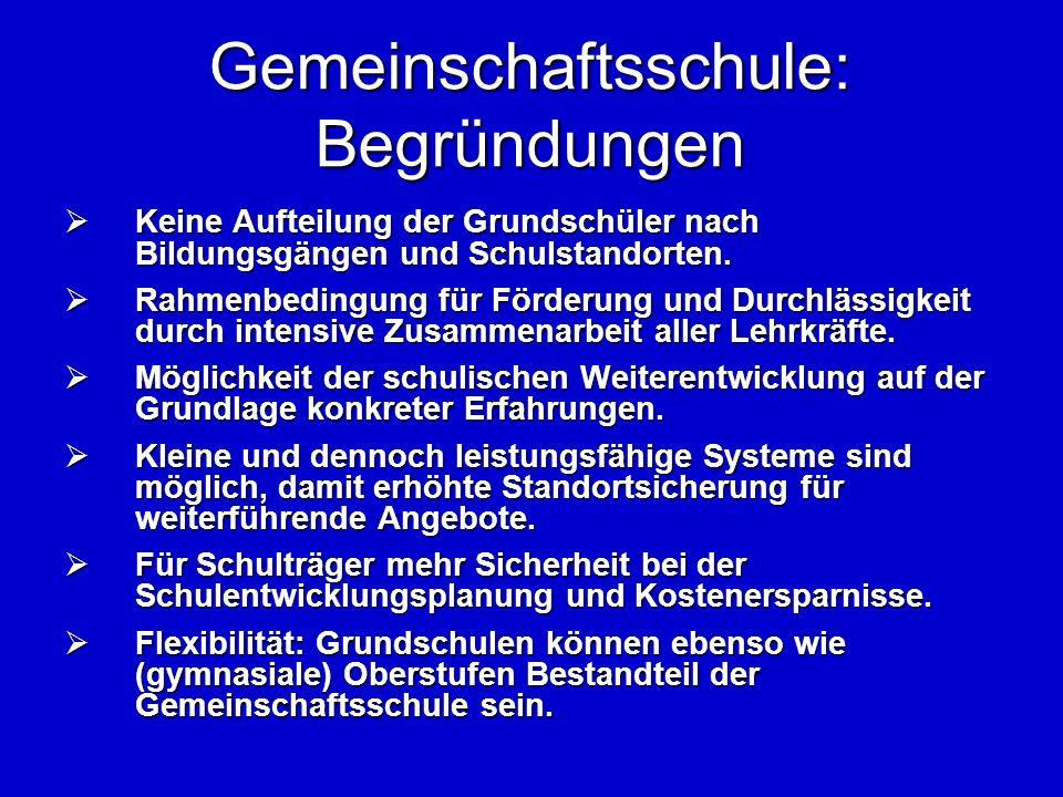 Erfahrungen aus Schleswig-Holstein Erfahrungen aus Schleswig-Holstein