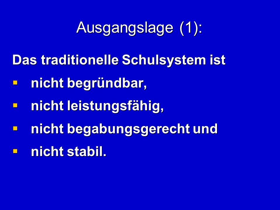 Der Querschnitt: Verteilung der Schüler im 5. Schuljahr 2008/09 Niedersachsen regional
