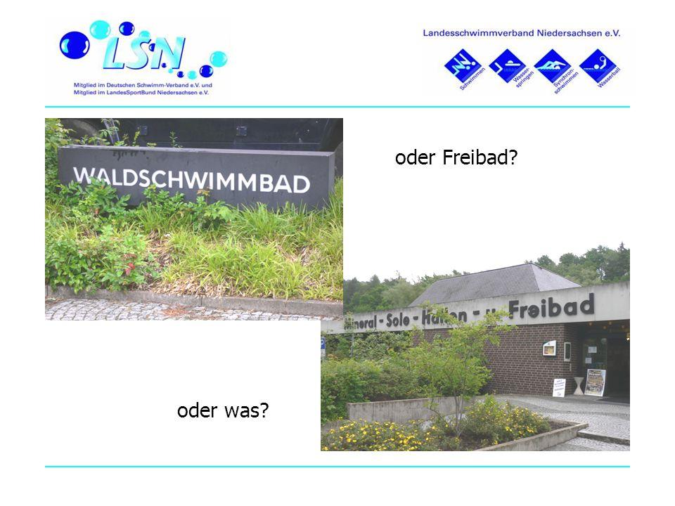Was machen Andere.Badewonne Nordsehl 10.000 Einwohner (ländliche Samtgemeinde) 50.000 Besucher ca.