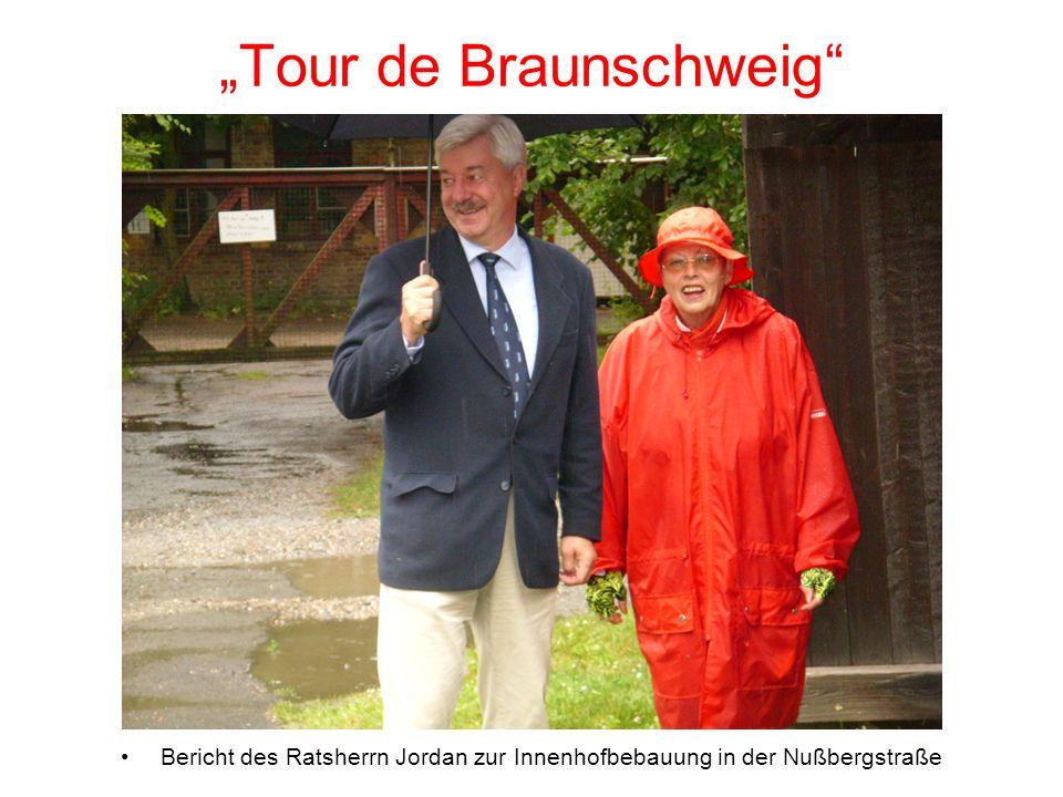 Tour de Braunschweig Bericht des Ratsherrn Jordan zur Innenhofbebauung in der Nußbergstraße