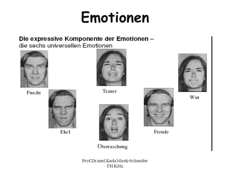 Prof.Dr.med.Karla Misek-Schneider FH Köln Emotionen