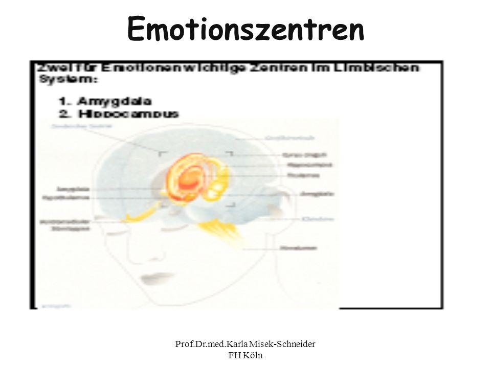Prof.Dr.med.Karla Misek-Schneider FH Köln Emotionszentren