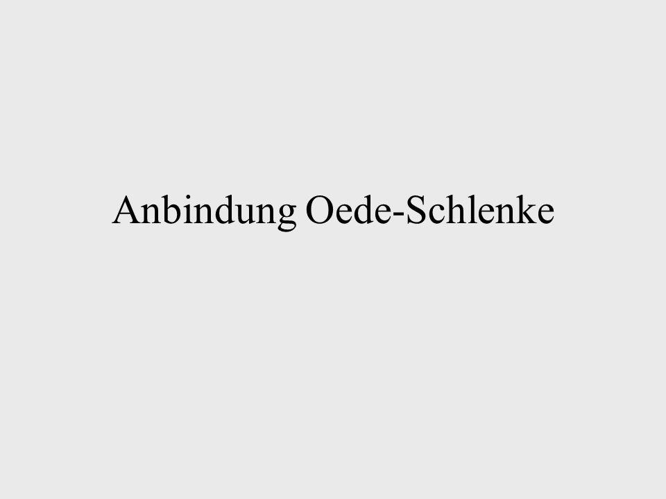 Zufahrt nur noch von Oberdahl -Ausbau des vorhandenen Weges zum Wirtschaftsweg -Kosten ca.