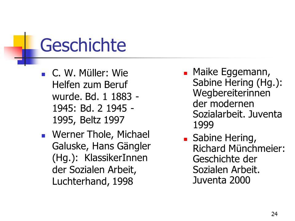 24 Geschichte C.W. Müller: Wie Helfen zum Beruf wurde.