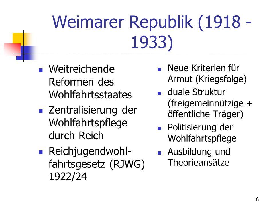 7 II.Geschichte der Jugendfürsorge Findel- und Waisenkinder im Mittelalter (12.