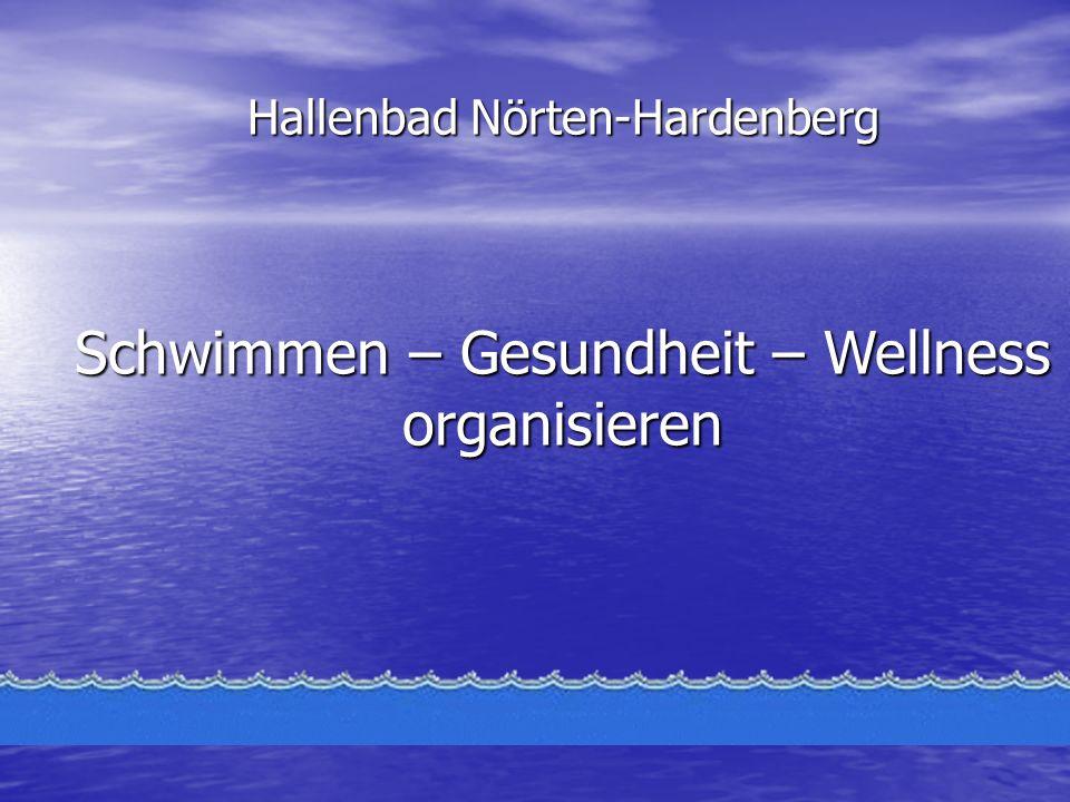 Hallenbad Nörten-Hardenberg Schwimmen – Gesundheit – Wellness organisieren