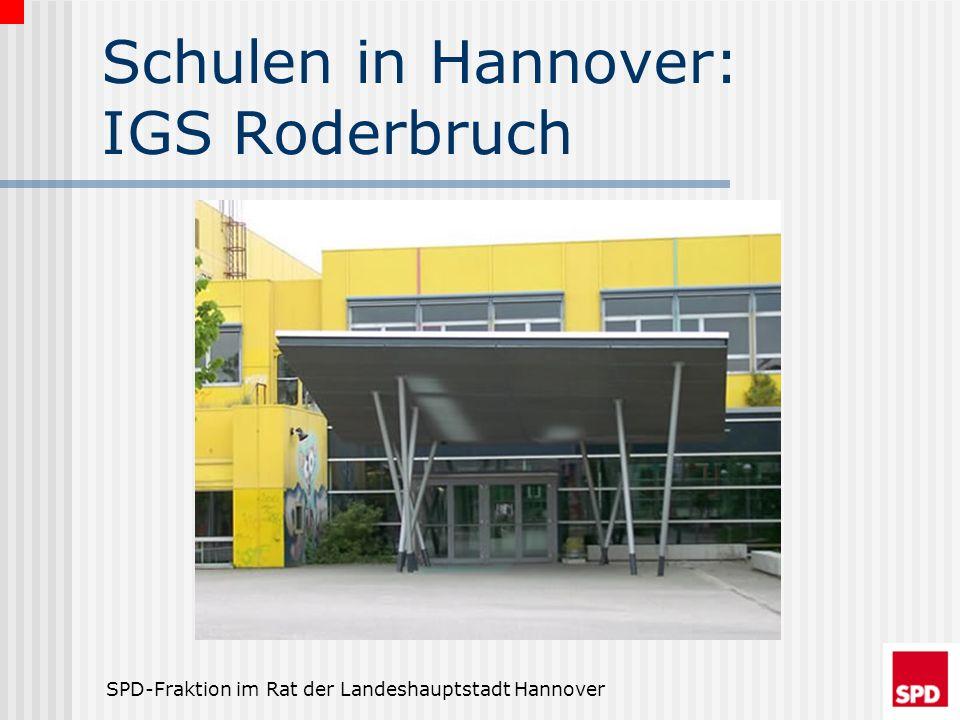 SPD-Fraktion im Rat der Landeshauptstadt Hannover Was ist planbar.