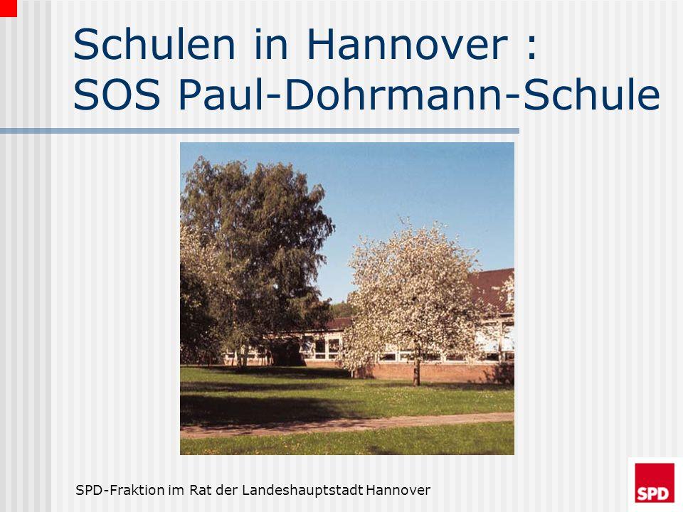 SPD-Fraktion im Rat der Landeshauptstadt Hannover Leichtes Spiel Die Orientierungsstufen in Schulzentren stellen die wenigsten Probleme dar: Meistens sollte eine Aufteilung der Räume an die anderen Schulen im Schulzentrum ausreichen.
