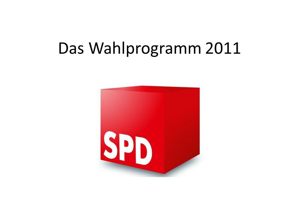 Wahlprogramm des SPD Ortsvereins Loxstedt zur Kommunalwahl am 11.
