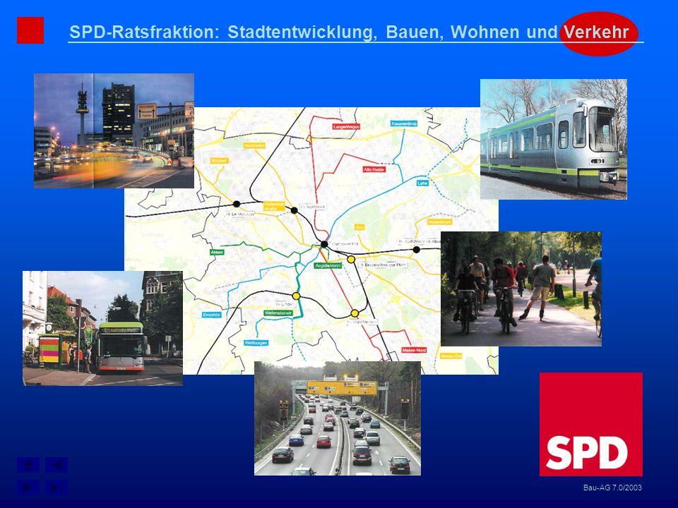 SPD-Ratsfraktion: Stadtentwicklung, Bauen, Wohnen und Verkehr Bau-AG 7.0/2003