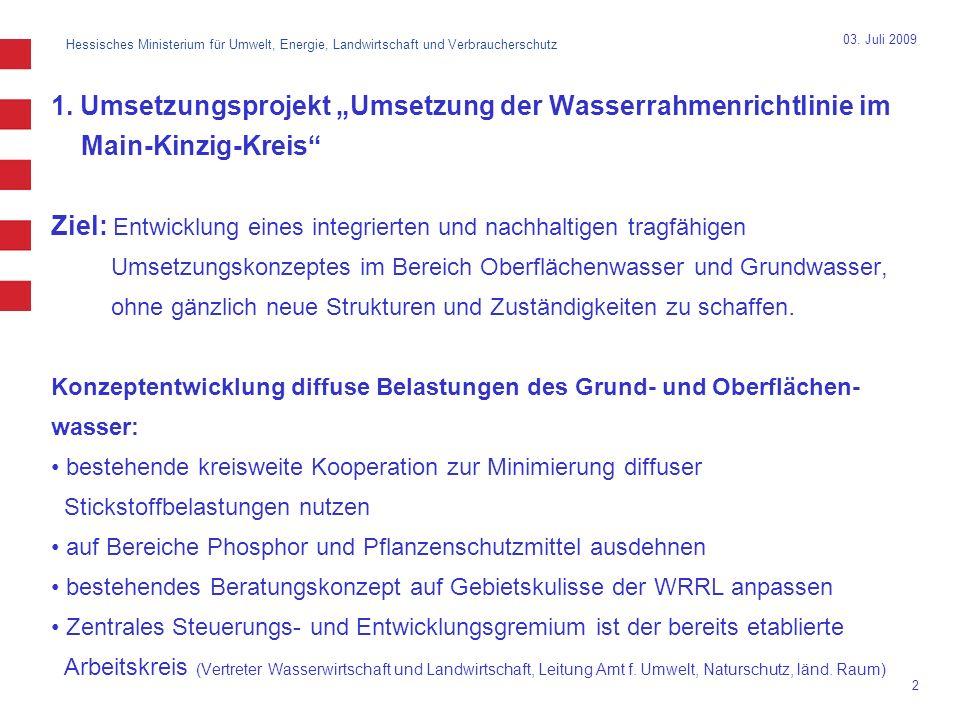 Hessisches Ministerium für Umwelt, Energie, Landwirtschaft und Verbraucherschutz 2 03.