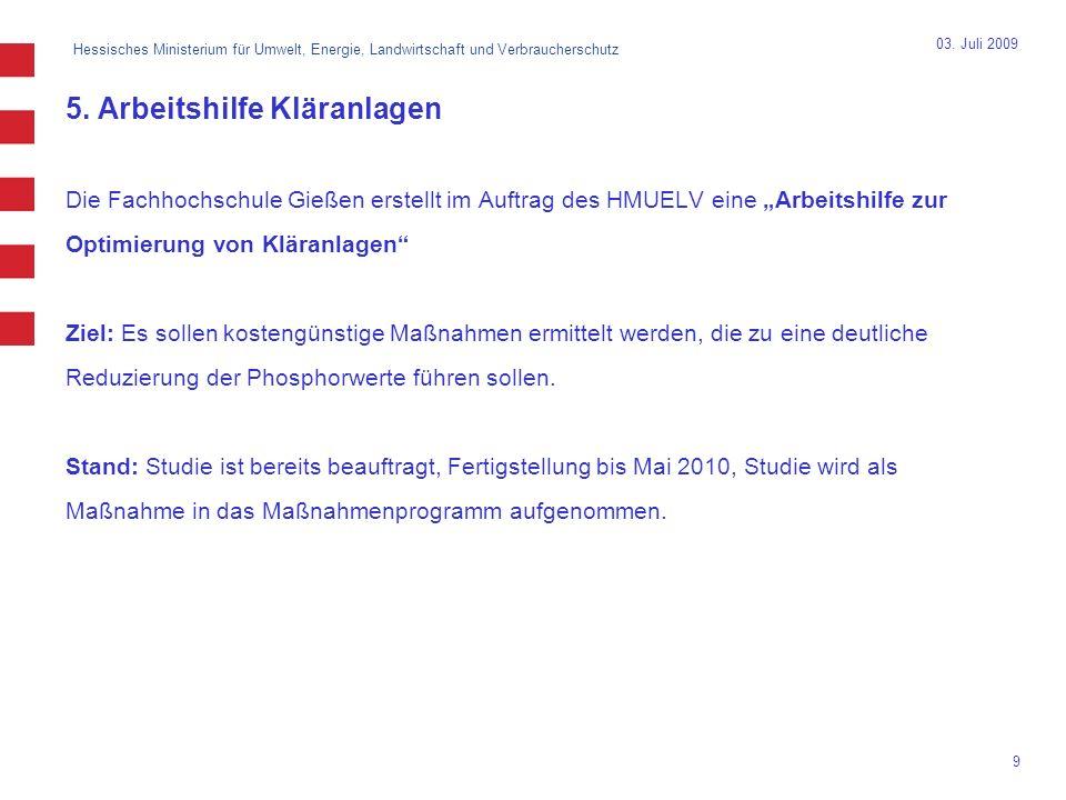 Hessisches Ministerium für Umwelt, Energie, Landwirtschaft und Verbraucherschutz 10 03.