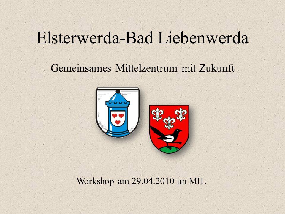 Elsterwerda-Bad Liebenwerda Gemeinsames Mittelzentrum mit Zukunft Workshop am 29.04.2010 im MIL