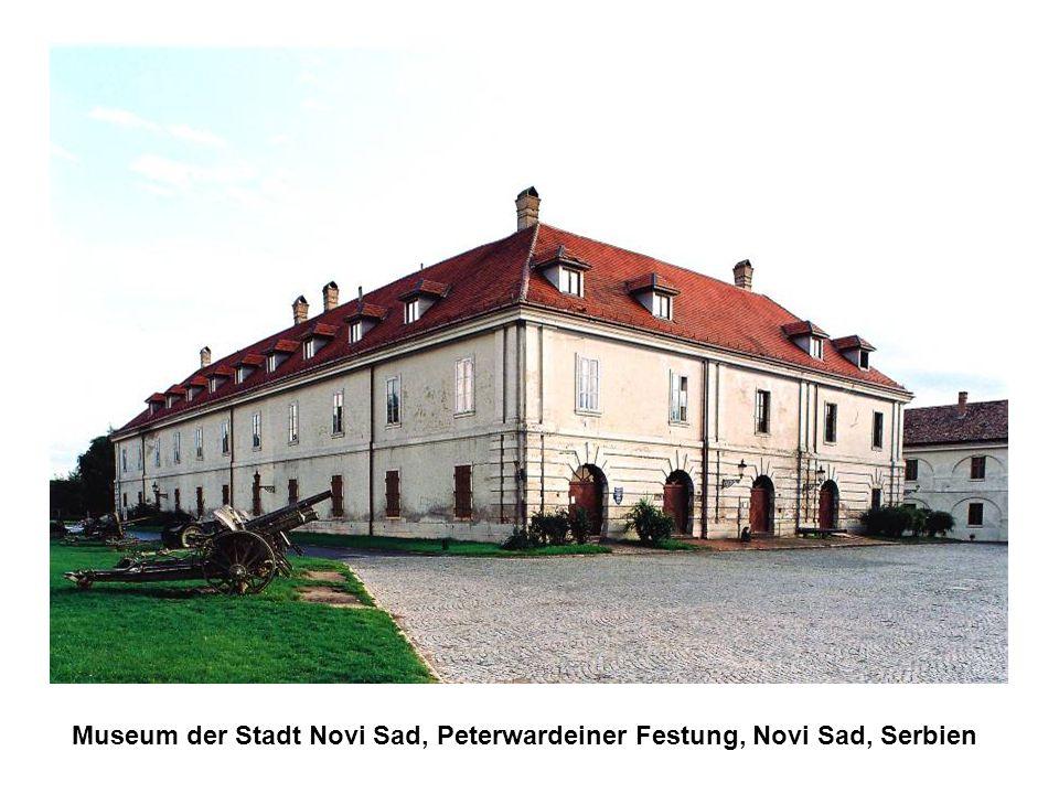 Museum der Stadt Novi Sad, Peterwardeiner Festung, Novi Sad, Serbien