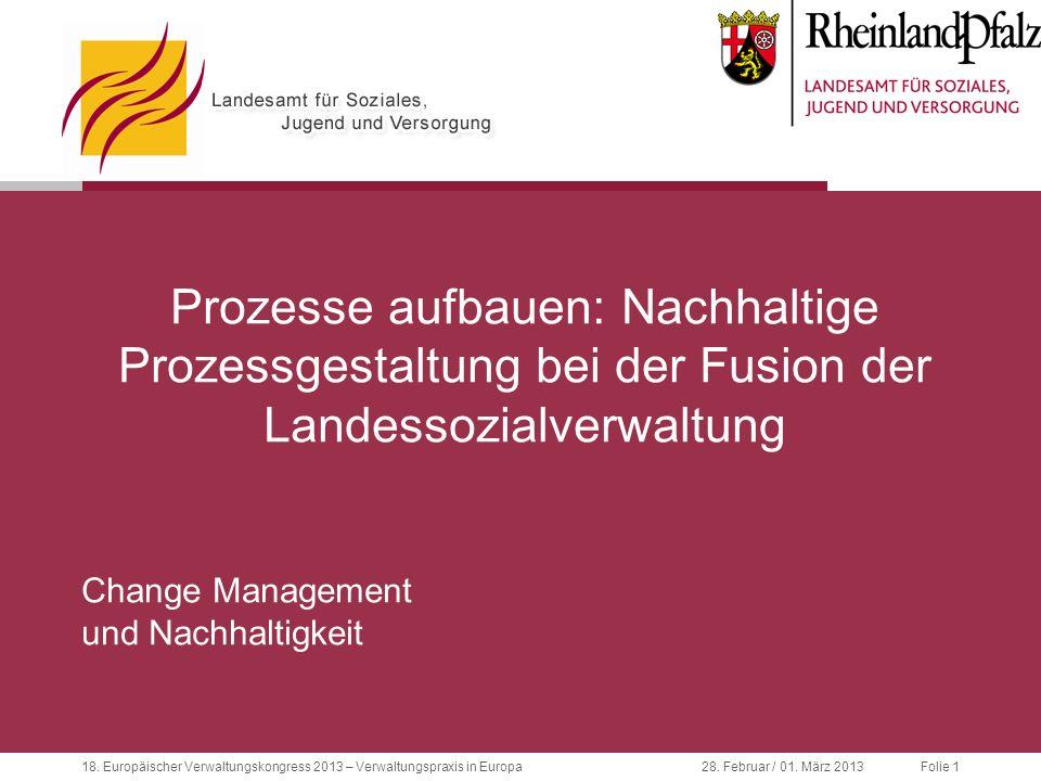 18.Europäischer Verwaltungskongress 2013 – Verwaltungspraxis in Europa28.