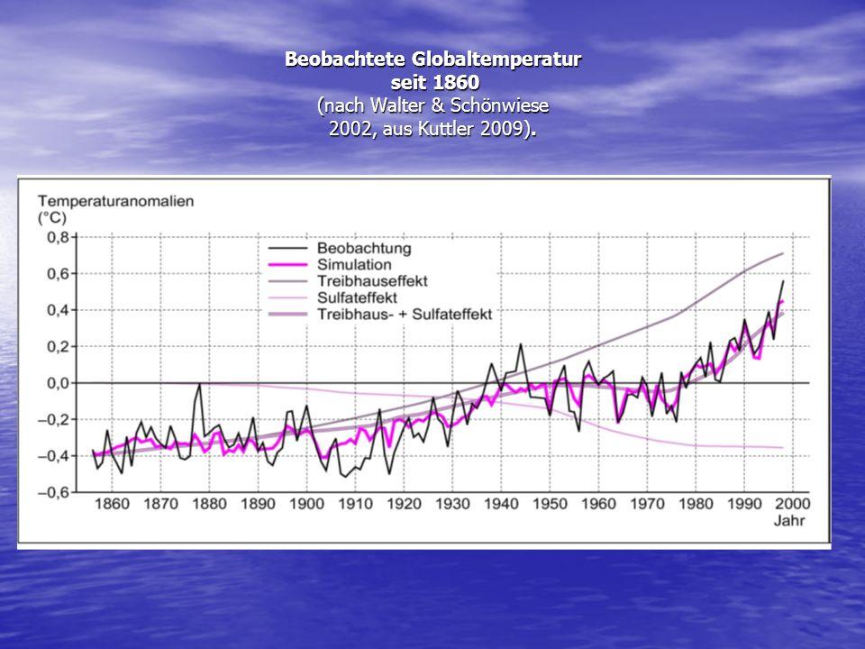 IPCC-Report 2007 (Intergovernmental Panel on Climate Change - Weltklimarat)