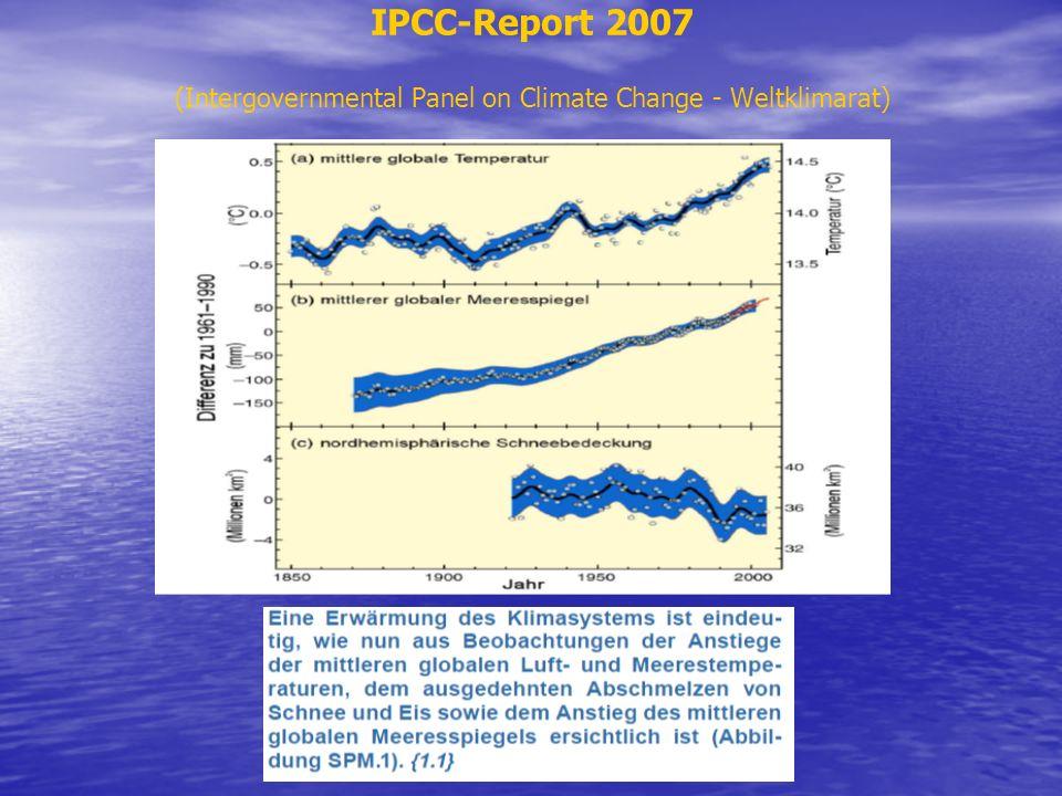 IPCC-Report 2007