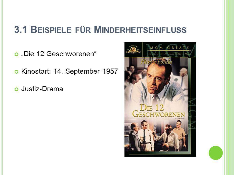 Die 12 Geschworenen Kinostart: 14. September 1957 Justiz-Drama