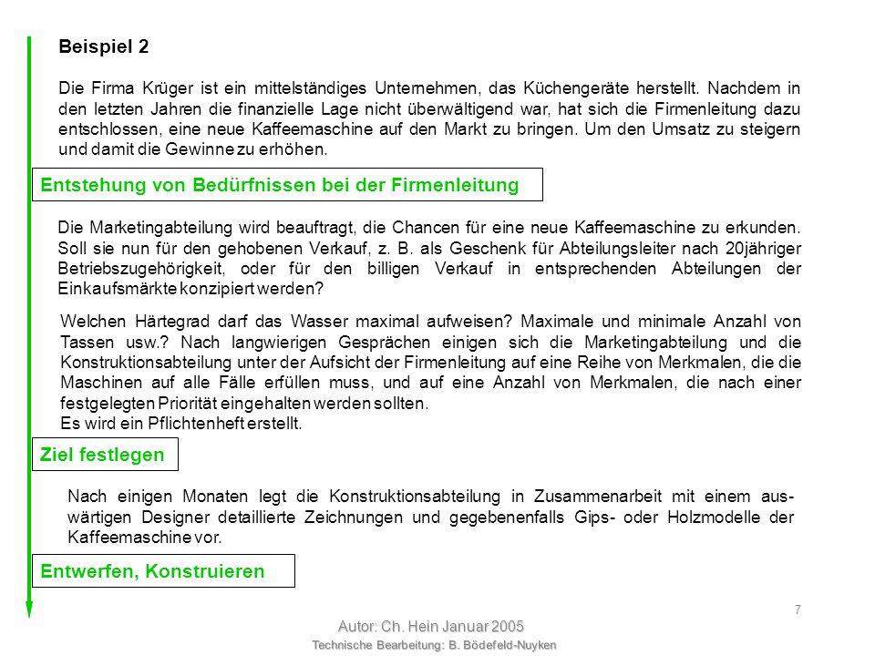 Technische Bearbeitung: B. Bödefeld-Nuyken Autor: Ch. Hein Januar 2005 6 Test Familie Gartenhuber probiert die Bank aus. Sie können vollkommen zufried