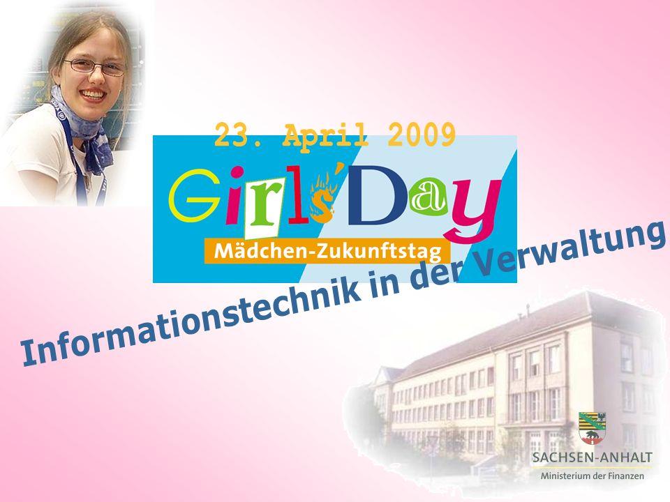 Das Finanzministerium beteiligt sich auch in diesem Jahr am GirlsDay.