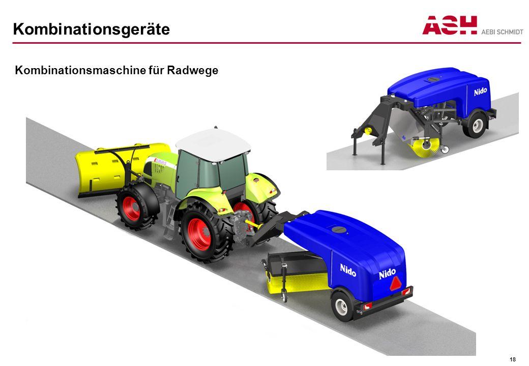 Kombinationsgeräte Kombinationsmaschine für Radwege 18