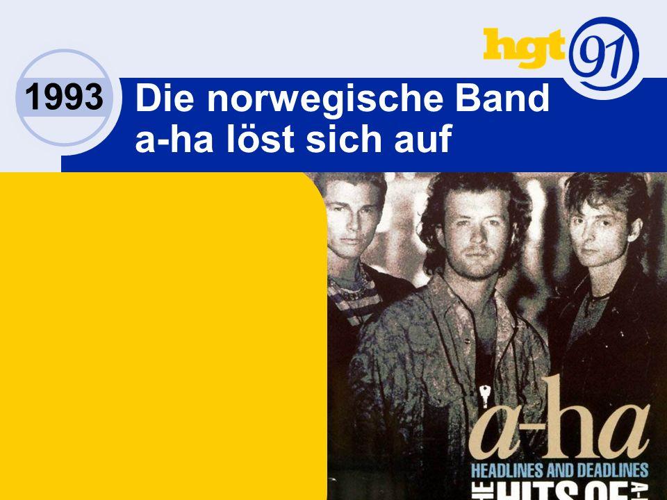 Die norwegische Band a-ha löst sich auf