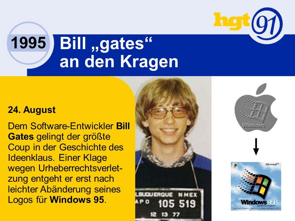 1995 Bill gates an den Kragen 24.
