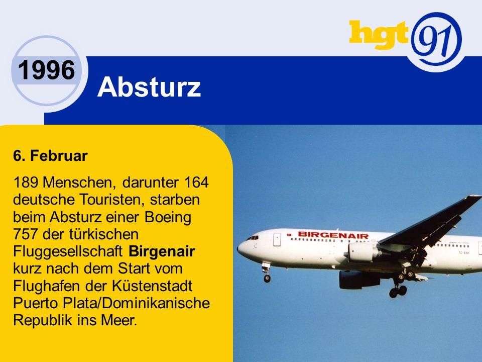 1996 Absturz 6.