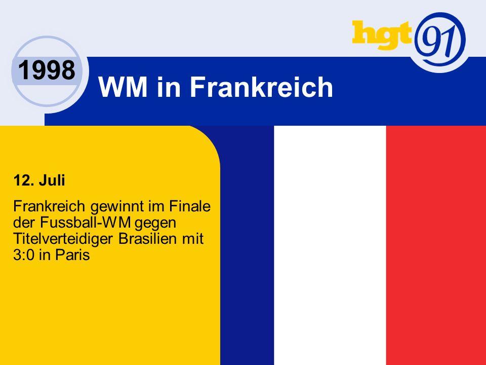 1998 WM in Frankreich 12.