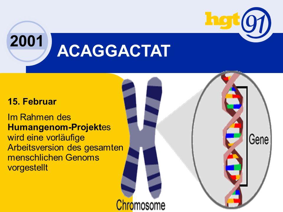 2001 ACAGGACTAT 15.