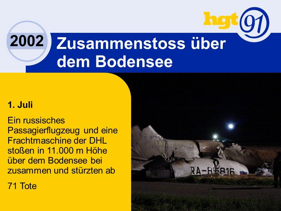 2002 Zusammenstoss über dem Bodensee 1.