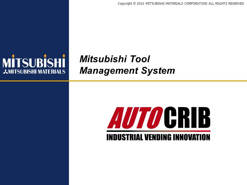 Tool – Management – System History AutoCrib stellt seit 1995 Tool Management Systeme für Fertigungsbetriebe her.