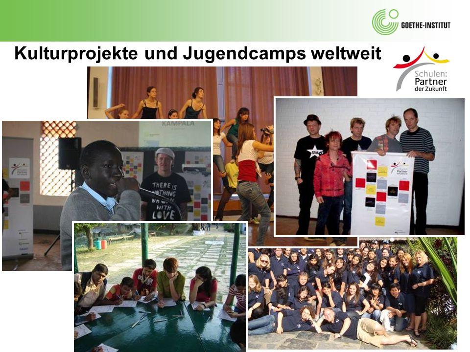Kulturprojekte und Jugendcamps weltweit